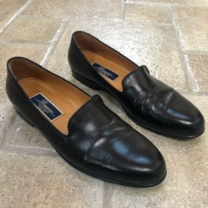 Bragano Cole Haan Made in Italy Loafers Black 9